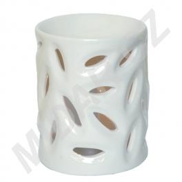 Bílá aromalampa