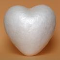 Srdce 90x90 mm polystyren 10 ks
